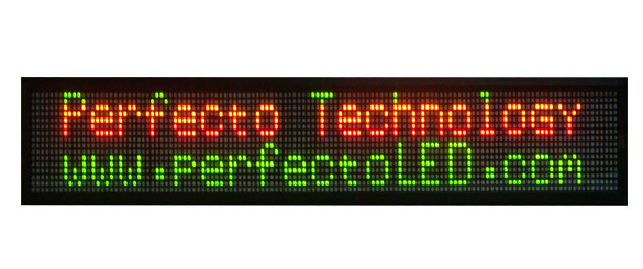 16 x 128 LED Signs