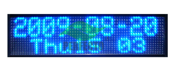 16 x 64 LED Signs