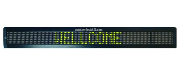 7 x 120 LED Signs