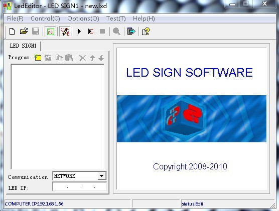 LED Editor