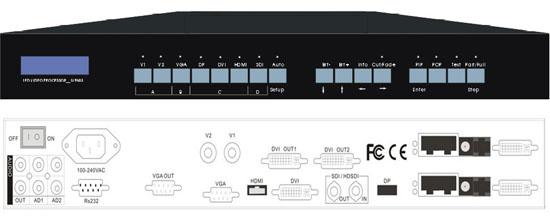 LVP603S LVP603 HD LED VIDEO PROCESSOR
